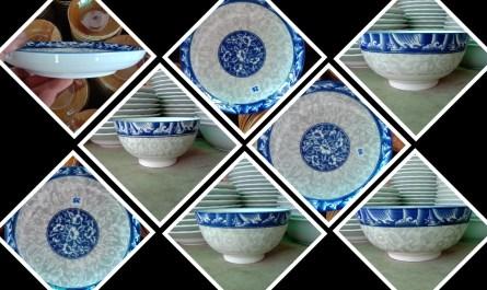 จานชามลายจีน ขายส่ง