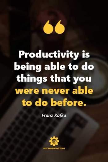 best productivity quotes