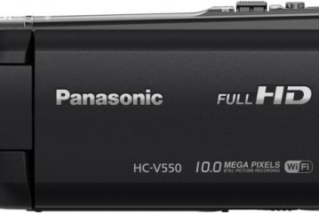Panasonic HC-V550 Camcorder  Review