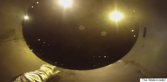 Human Cannonball Straps On GoPro, We All Get Nervous