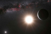 Signs of two infant planets around young star detected
