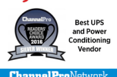 CyberPower Earns Silver in the ChannelPro-SMB 2016 Readers' Choice…