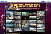 """EarthCam Announces Its """"25 Most Interesting Webcams of 2017"""""""