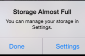 Storage Almost Full? A quick, easy, should-know-better way to clear space on an iPhone