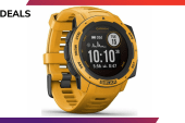 Get into running with £50 off the Garmin Instinct Solar smartwatch