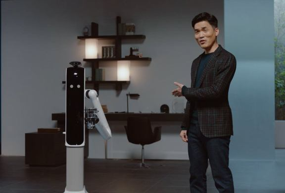 Samsung's new robot housekeeper will pour you a damn beer