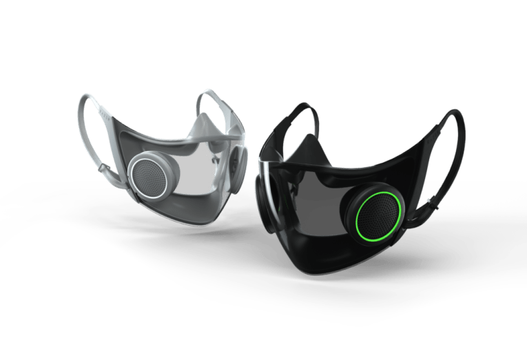 Razer reveals 'smart' face mask with RGB lighting
