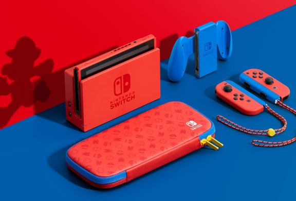 Mario is getting a limited edition Nintendo Switch console and it looks gorgeous