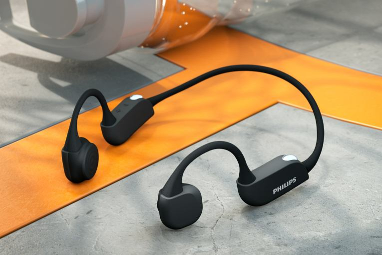 Philips' new sports headphones pack heart monitoring and bone conduction tech