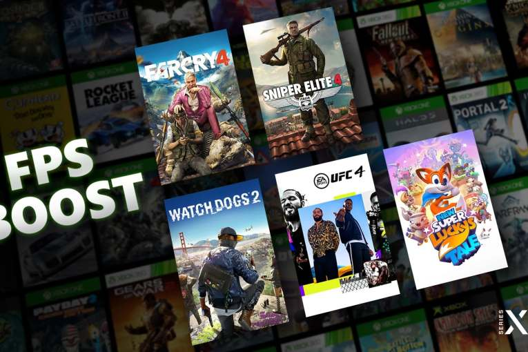 Xbox Series X/S FPS Boost tech can quadruple frame rate of Xbox One classics