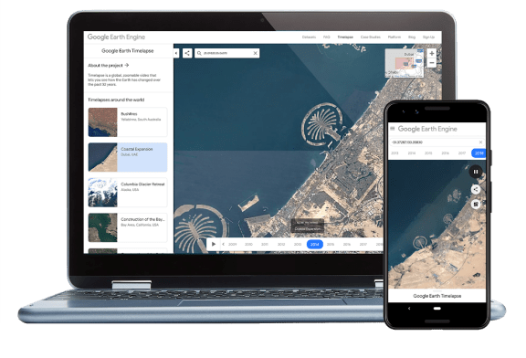 Google Earth's new time-travel feature is a gigantic bummer