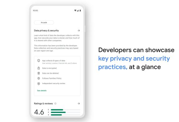 Here's how Google Play's new app safety labels will look