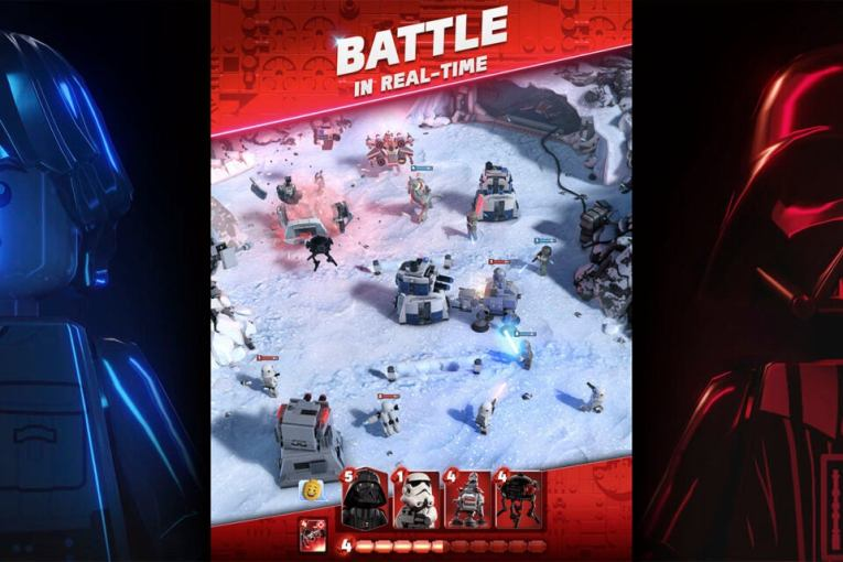 Lego Star Wars Battles is returning as an Apple Arcade exclusive