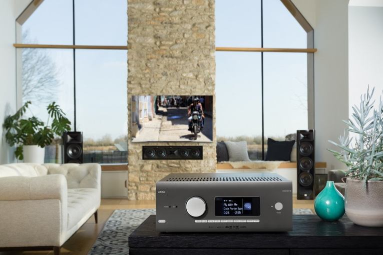 Arcam AVR5 packs in Atmos, Roon Ready and Dirac Live support