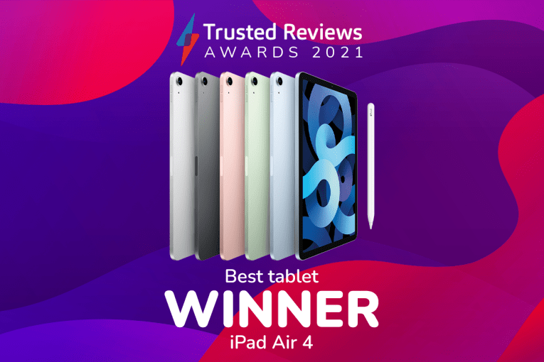 Trusted Reviews Awards 2021: The iPad Air 4 is this year's Best Tablet