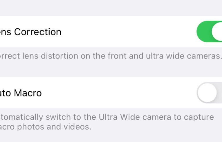 How to turn off the iPhone 13 Pro macro mode completely