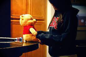 girls facebook dp's with teddy bear