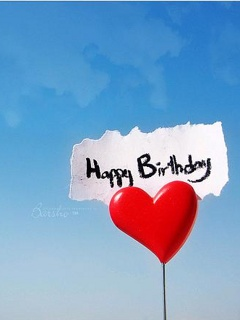 happy birthday with heart facebook profile pictures