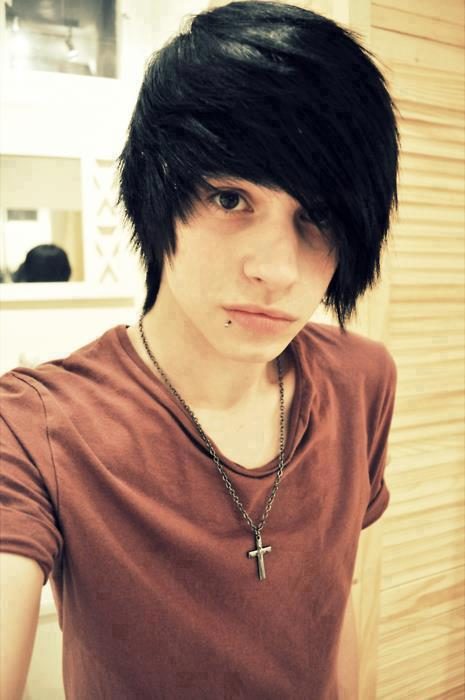 new stylish emo boys facebook profile pictures