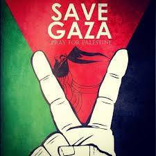 pray for gaza Facebook profile pictures