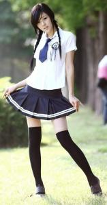 japanese school girls Facebook profile pictures