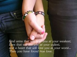 nice true love quotes profile pictures
