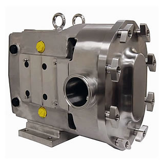 Circumferential piston pump stainless steel