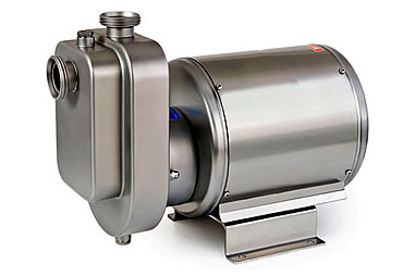 Food grade self-priming pump