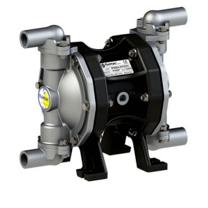 Twin chamber double diaphragm pump