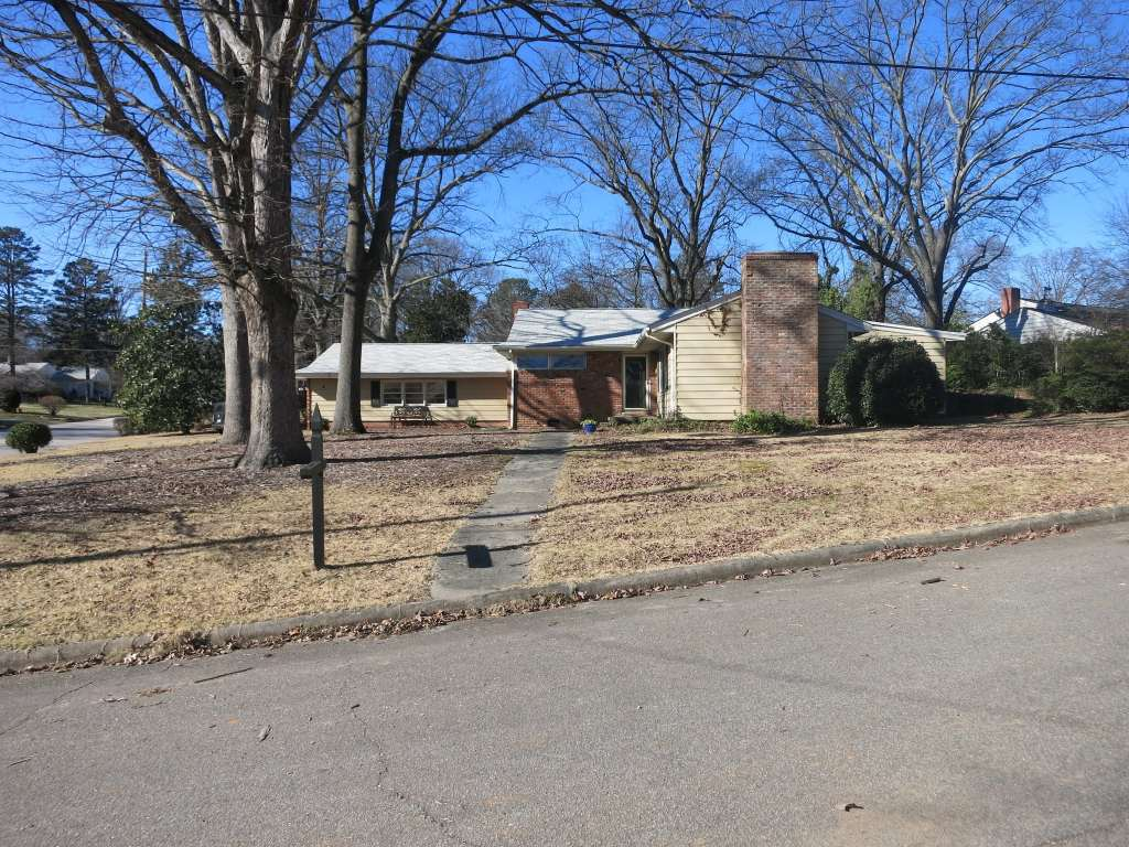 Cameron Village .Existing Home. Note lot size, Best Raleigh Neighborhoods, Downtown Raleigh, Hillsborough Neighborhood, Cameron Village Subdivision