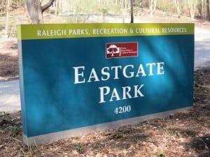 Eastgate Park Entrance