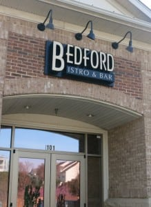 Bedford Bistro and Bar, Opposite Side of Shoppes at Bedford from Town Center Commons, Best Raleigh Neighborhoods, North Raleigh, Bedford