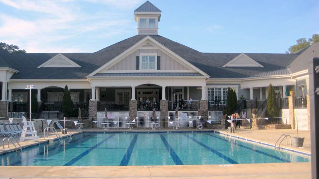 North Hills Club Pool, North Hills Club, Best Raleigh Neighborhoods, Midtown, North Hills