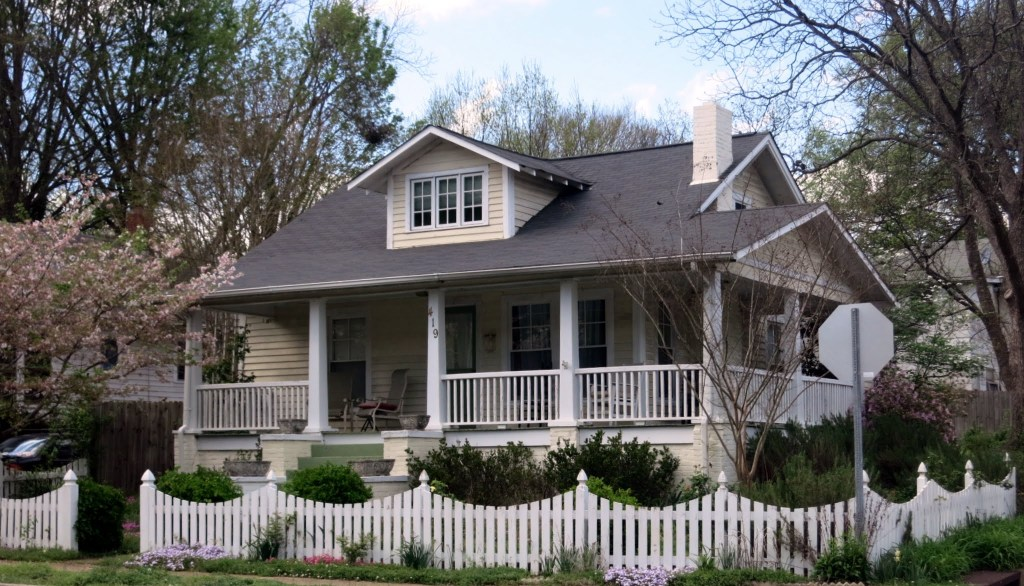 419 Frank St. at Watauga St., Best Raleigh Neighborhoods, Inside the Beltline, Mordecai