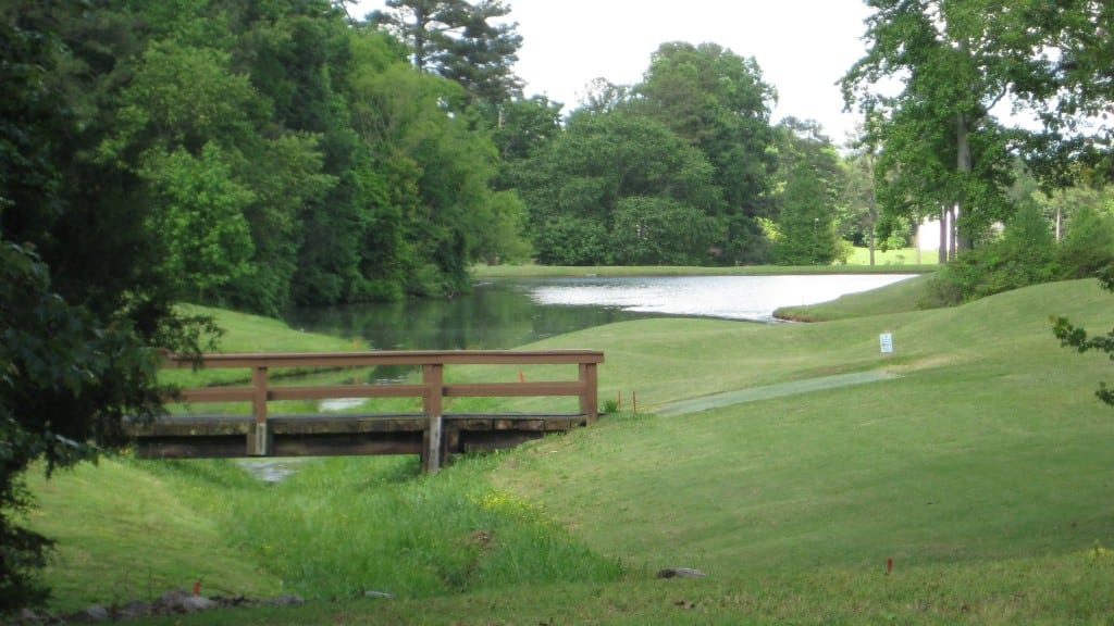 -Bridge Between 8th Fairway and Green