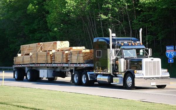 lumber shipping canada