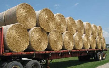 hay bale shipping and agricultural shipping