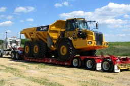 oversize equipment trucking canada