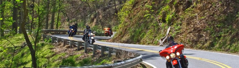 Smoky Mountain Motorcycle Rides Best