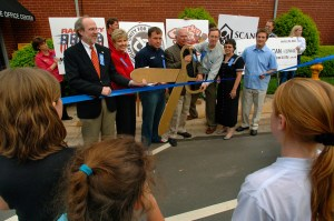 Mooresville Ribbon Cutting of SCAN Center
