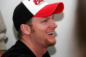 Dale Jr. at Stocks for Tots event