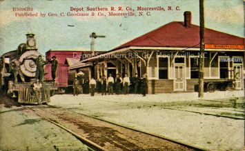 The Original Mooresville Train Depot is now home to Mooresville Arts