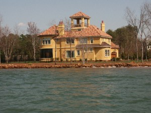 Waterfront Estate in The Point on Lake Norman