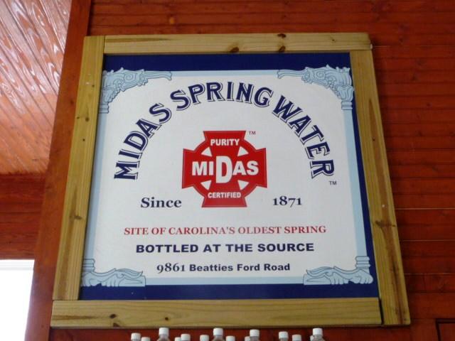 Midas Spring Water in Huntersville
