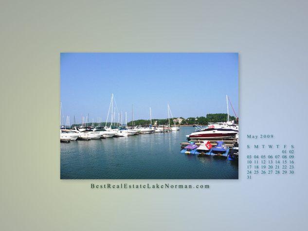 Lake Norman may 09 wallpaper calendar