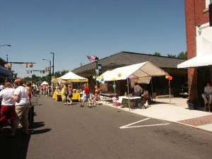 Main Street Mooresville During Race City Festival