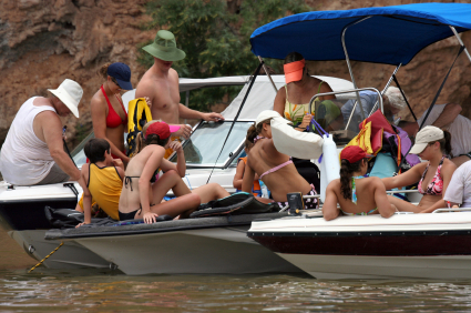 Lake Norman-Like Raft Up Party
