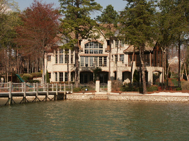 Lake Norman Waterfront Estate in The Point Luxury Community