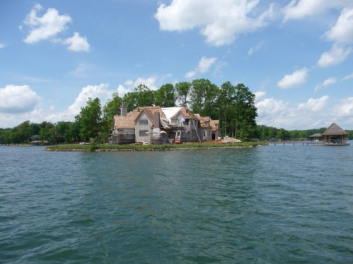 Lake Norman waterfront home on it's own point