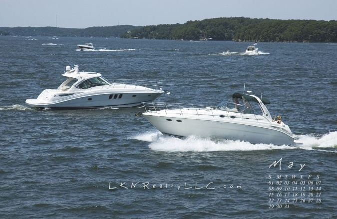 Lake Norman boating calendar